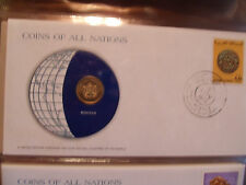 Coins of All Nations Morocco 10 Santimat 1974 UNC