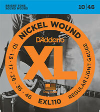 DAddario EXL110 Guitar Strings Reg Light Gauge 10-46