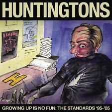 Huntingtons-Growing Up Is No Fun CD Christian Rock/Punk Ramones Brand New-Sealed