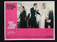 MY FAIR LADY original AUDREY HEPBURN lobby card REX HARRISON Musical VF 4