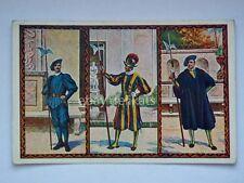 VATICANO Città Guardia Svizzera vecchia cartolina postcard