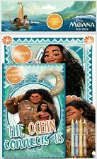 Disneys Moana Pack De Juegos Para Colorear Almohadillas Lápices Infantil