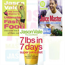 Jason Vale Collection 3 Books Set Pack (The Juice Master's Ultimate Fast Food)PB