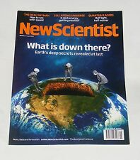 NEW SCIENTIST MAGAZINE 11TH APRIL 2009 - WHAT IS DOWN THERE?/QUANTUM LASERS