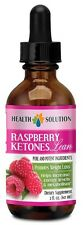 Raspberry Ketones Lean Liquid - Weight Loss Diet Drops Fast Absorbing - 1B