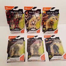 New FALL 2017 Set Of 6 Mega Bloks Halo Heroes Series 3 Hero