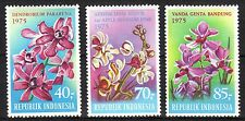 Indonesia - 1975 Orchids / Flowers - Mi. 812-14 MNH