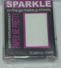 1 Mary-Kate And Ashley Paper Me Pretty On The Go Makeup Sheets 50 Glamour Sheets