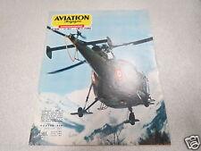 AVIATION MAGAZINE N° 458- 1967 - Hélico de la gendarmerie - Collection Cessna *