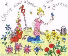 Bothy Threads XHT1  Home Truths  Garden  Broderie au Point de croix compté