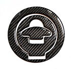 Ducati 848 1099 998 999 Real Carbon Fiber Gas Tank Cap Filler Cover Pad trim
