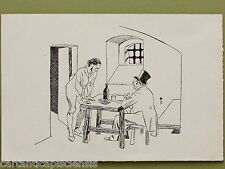 DISEGNO BOZZETTO DRAWING '900 CHINA SU CARTA PIERO BERNARDINI