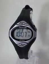 Timex T5D681 Women's Sports Marathon Black Resin Strap Digital Watch OVERSTOCK