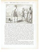 "1825 Santi: San Sadoth vescovo di Seleucia ""Saint Sadoth Eveque"" Eveque de Salec"