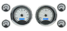 Dakota Digital Universal 6 Round Gauges VHX Analog Dash System Bezels VHX-1024
