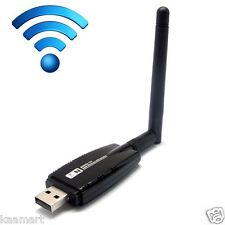 USB WiFi Wireless N 300M Adapter Wi-Fi Dongle 5dBi High Gain Power Antenna