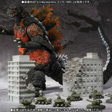 S.H. MonsterArts Godzilla Toho Ultimate Weapon Set 2 Tamashii Web Exclusive