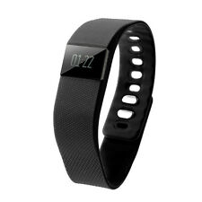 F4 Bluetooth Smart Watch Wristband Pedometer Heath Fitness Tracker Black