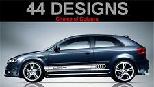 audi a3 s3 quattro rs3 s lineside tripe decals stickers 2 off