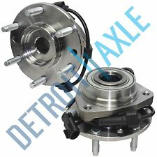 Both (2) Brand New Complete Front Wheel Hub Bearing Assembly 2002-09 GMC & Chevy