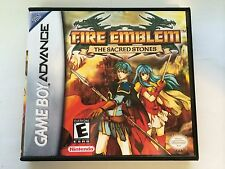 Fire Emblem The Sacred Stone - GBA - Replacement Case - No Game