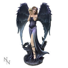 Nemesis Now Branwen Dark Angel Figurine 35cm Statue Fantasy Gothic Sculpture