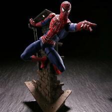 SpiderMan SCI-FI Revoltech Series No.039 Spider Man 16cm PVC Action Figure Model