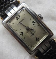 Longines mens wristwatch chronometer stel case load manual running condition