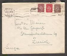 1948 cover Portugal Porto Walter Stam Caixa Postal 95 to Zurich  Switzerland