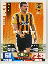 Match Attax 2014/15 Premier League - #112 Alex Bruce - Hull City