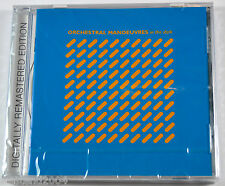 Orchestral Manoeuvres In The Dark - OMD - Remastered + Bonus Tracks CD NEW !