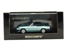 Minichamps 400-120760 1:43 1983 Alfa Romeo Spider 2.0 light metallic blue V/RARE