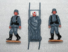 Timpo Toys  German Soldiers Stretcher Team Deutsche Soldaten WW 2