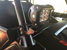 POLARIS RZR 570, 800, 900 LOWER ROLL BAR LIGHT BRACKET 40117 CUBE LED 2 PIECES