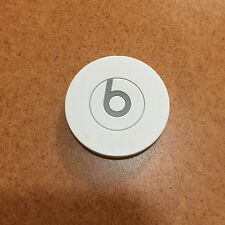 Genuine Beats by Dr. Dre Solo HD Center Cap Lid Badge Drenched In White - Part