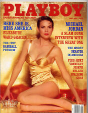 Playboy may 1992 ed.USA Elizabeth Ward Gracen Vickie Smith