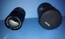 Konica Hexanon 135mm  F3.5 Telephoto Manual Focus Camera Lens with Original Case