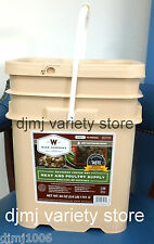 Wise Survival Food Freeze Dried Emergency Meals Supply 60 Serving Meat Bucket