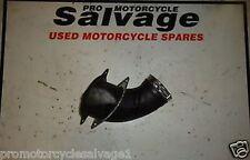KAWASAKI ZZR 1400 2006 - 2012:AIR TUBE - LEFT:USED MOTORCYCLE PARTS