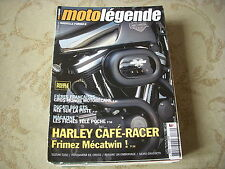 MOTO LEGENDE 139 10.2003 HARLEY CAFE RACER DUCATI 860 GTS Les FICHES TELE POCHE