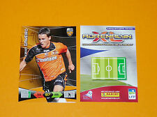 KEVIN GAMEIRO FC LORIENT MERLUS FOOTBALL FOOT ADRENALYN CARD PANINI 2010-2011
