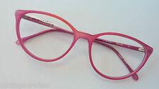 Pro Design  Kunststoffbrille mit extragroßer Butterflyform kirschrot GR:L 56-16
