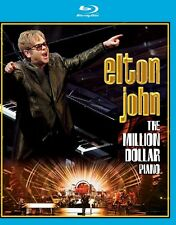 ELTON JOHN - THE MILLION DOLLAR PIANO  BLU-RAY NEW+