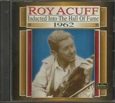 Country Music Hall of Fame: 1962 by Roy Acuff   LIKE NEW