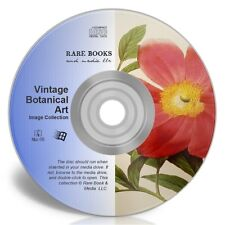 VINTAGE BOTANICAL ART-  Royalty-Free Pictures Collection CD-ROM