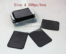 200pc Size 4# Dental Phosphor Plate Barrier Envelopes Digital X-Ray Scan