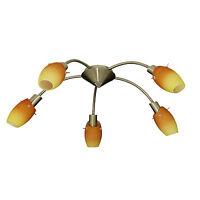 5 Arm Modern Energy Saving Chrome Ceiling Light Fitting Chandelier Spot Lights