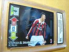 STEPHAN EL SHAARAWY AC MILAN 2012 ADRENALYN XL LIMITED EDITION GRADED 10
