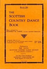 The Scottish Country Dance Book : Book 20 by Carnie, Winifred M. (softback