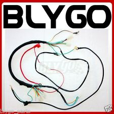 DC YX 150CC Kick+ Electric Start Engine Wire Wiring Harness Loom PIT Dirt Bike